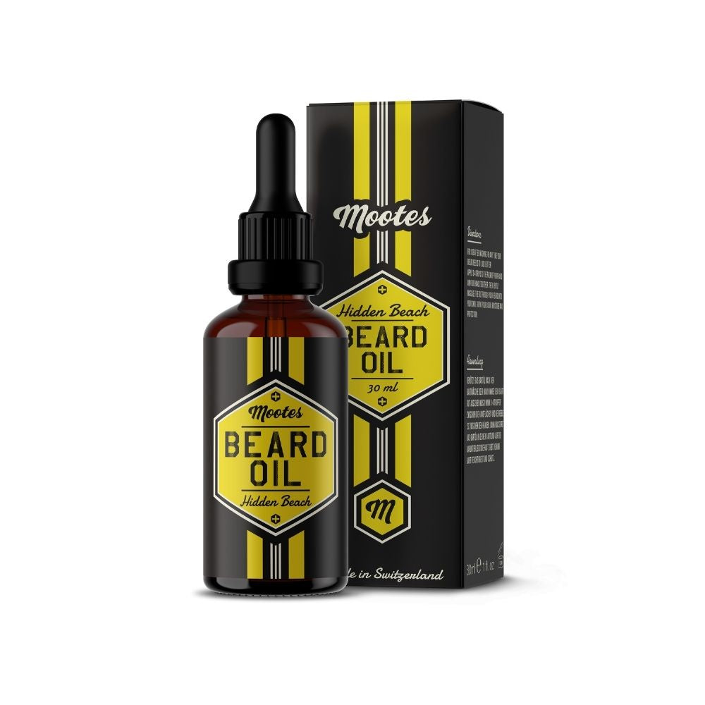 Mootes Beard Oil - Hidden Beach 30ml - Bartöl