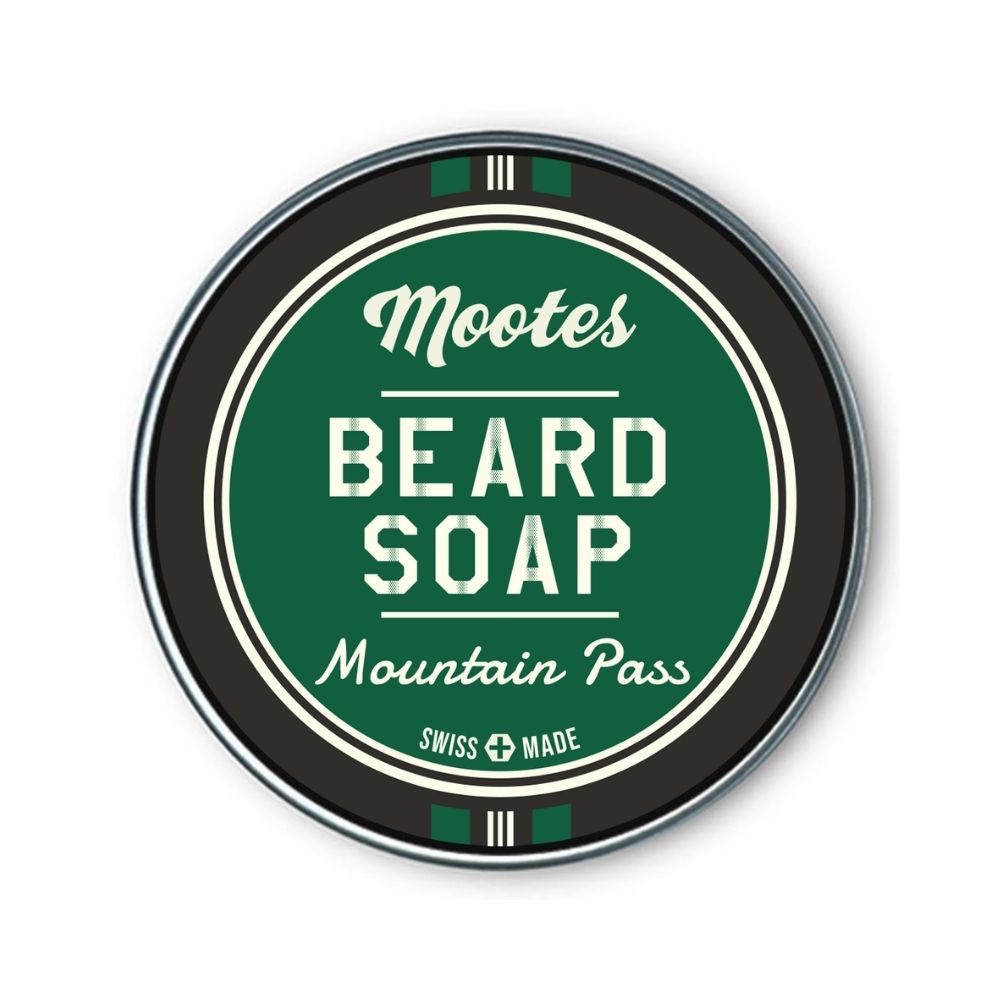 Mootes Beard Soap - Mountain Pass 80g - Bartseife