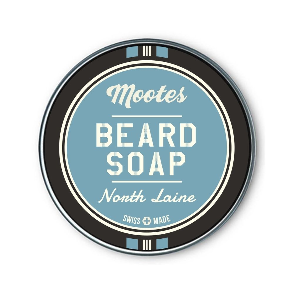 Mootes Beard Soap - North Laine 80g - Bartseife