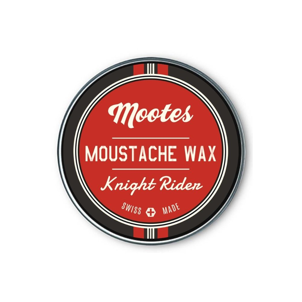 Mootes Moustache Wax - Knight Rider 15g