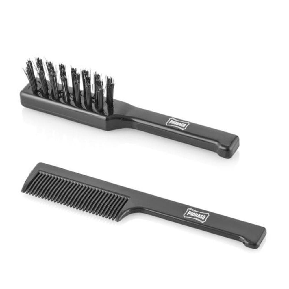 Proraso Old Style Moustache Brush Set - Bartpflegeset