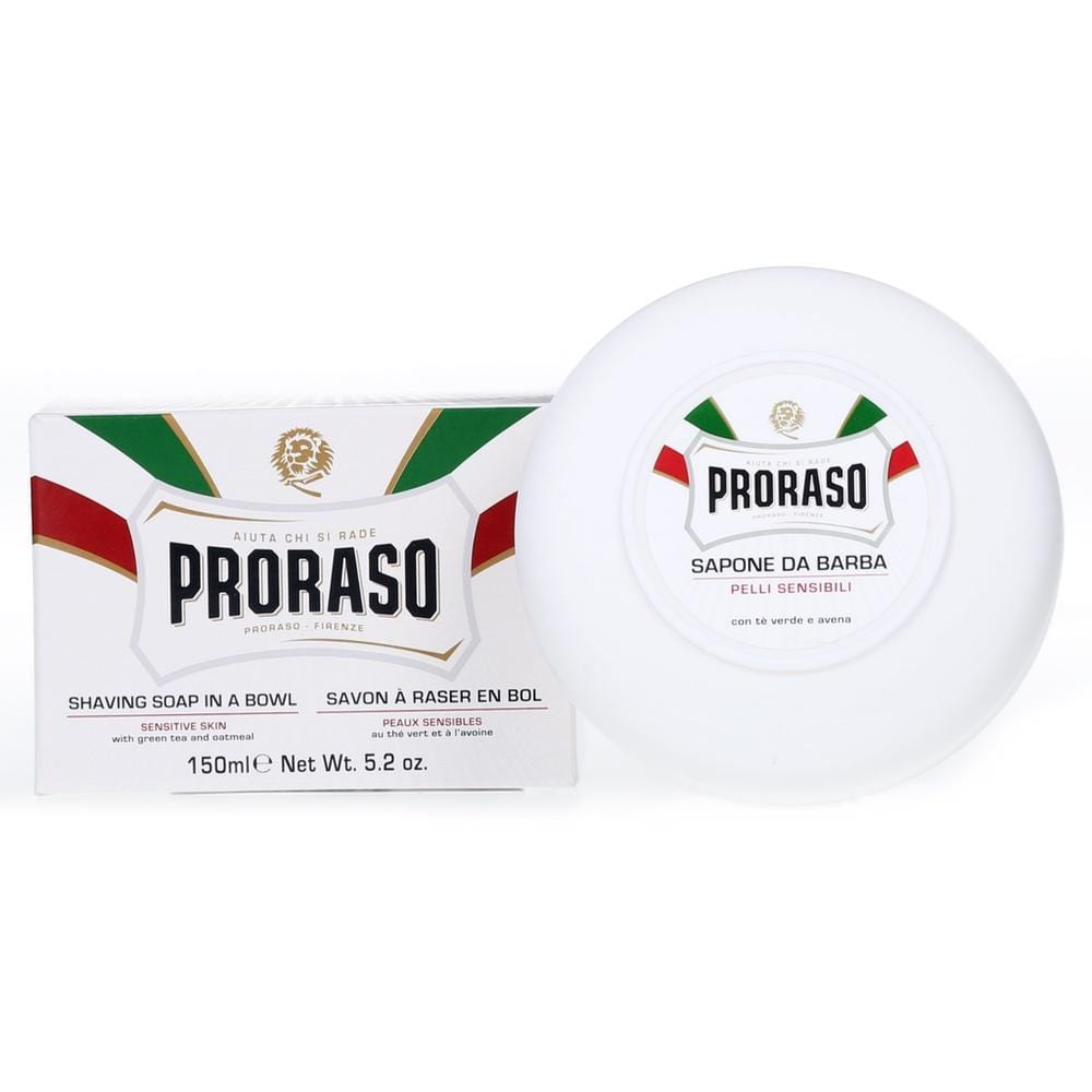 Proraso Rasierseife - White Sensitive im Tiegel