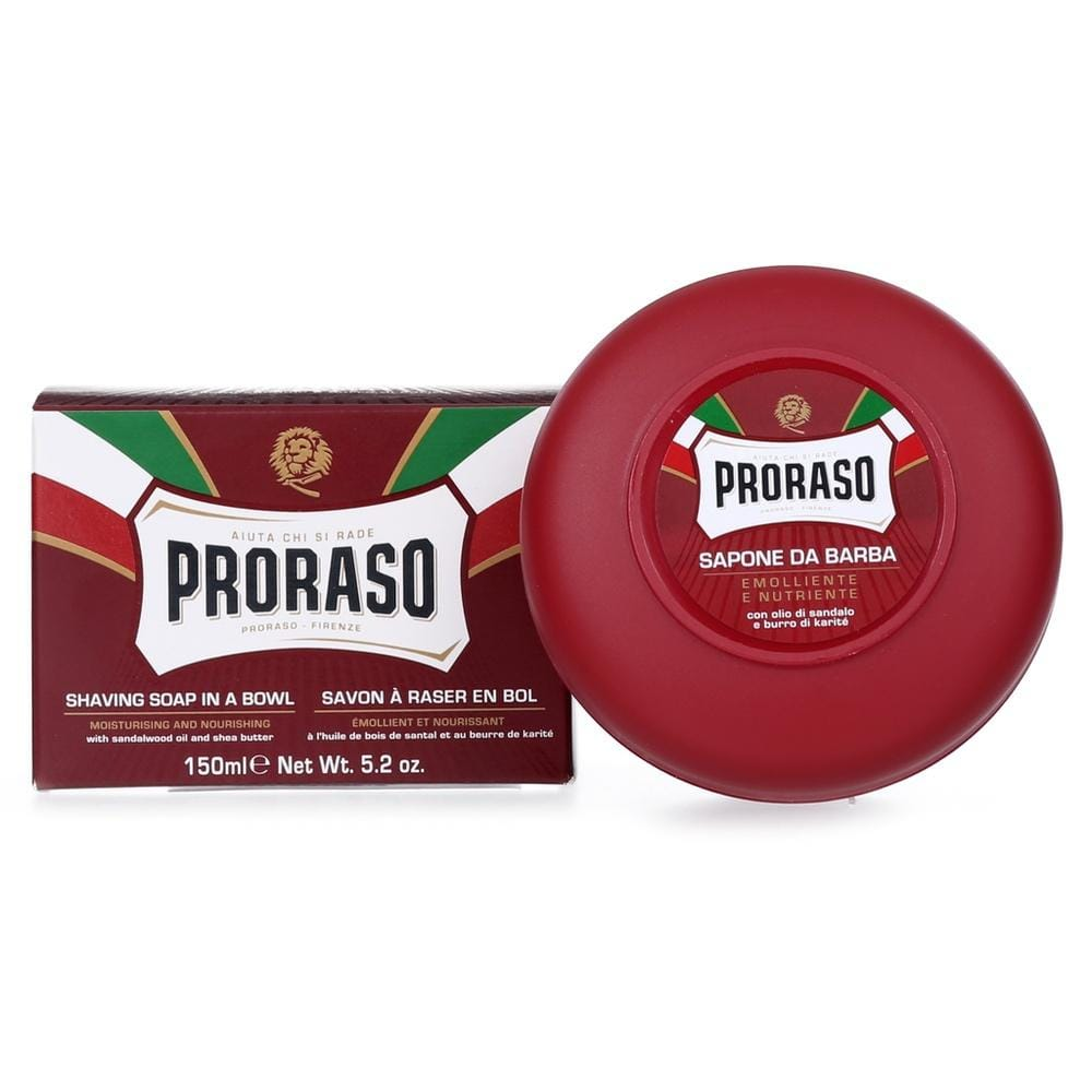 Proraso Rasierseife - Red Nourish im Tiegel-The Man Himself