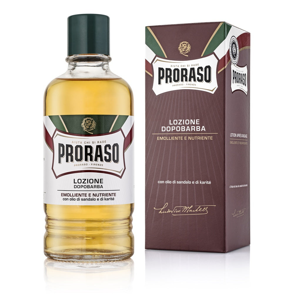 "Proraso After-Shave-Lotion - Red Nourish ""Barber Size"""