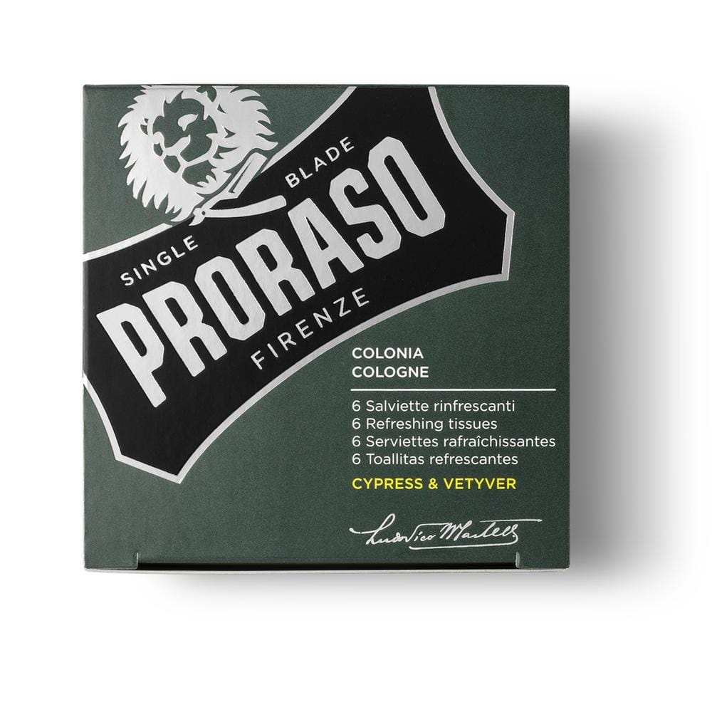 Proraso Erfrischungstücher - Cypress & Vetyver-The Man Himself