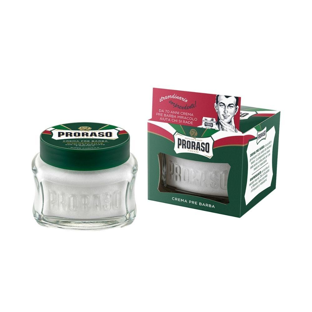 Proraso Vintage Selection Gino X3 Green Refresh - Rasierset