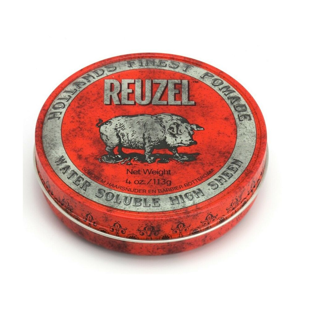 Reuzel Pomade Red - Water Soluble High Sheen (Regular 113g)