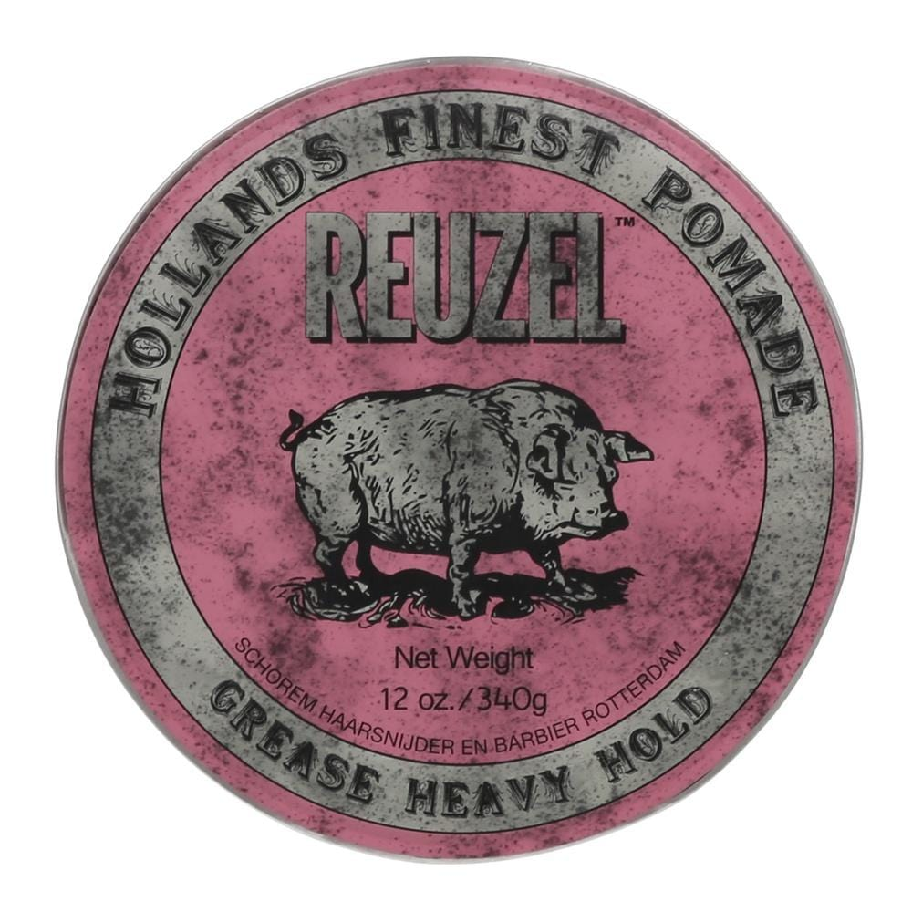 Reuzel Pomade Pink - Grease Heavy Hold (Barber Size 340g)