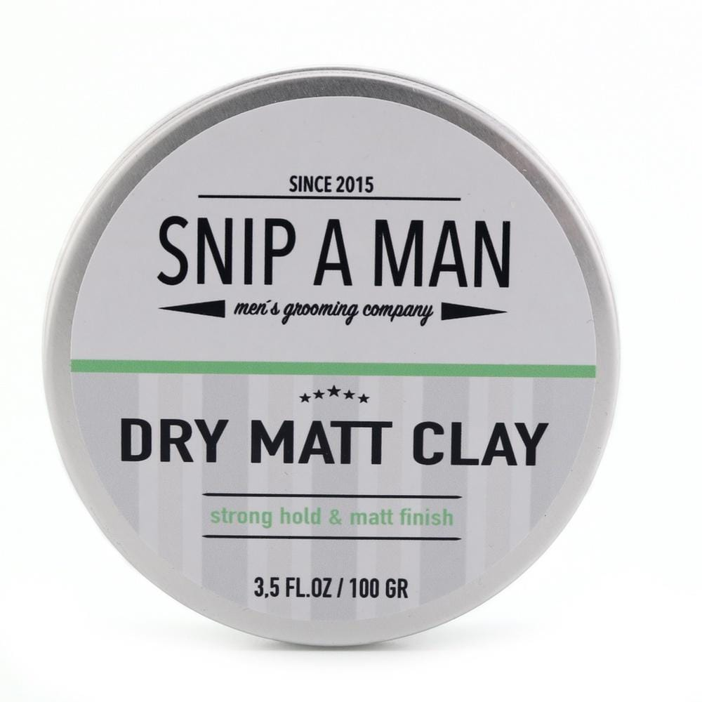 SNIP A MAN Dry Matt Clay-The Man Himself