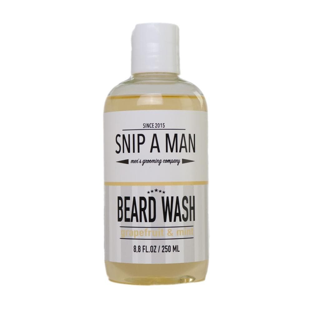 SNIP A MAN Beard Wash Grapefruit & Mint - Bartshampoo