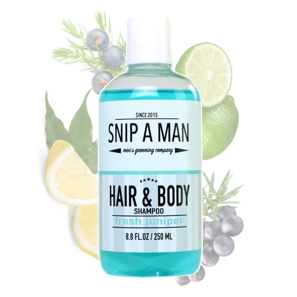 SNIP A MAN Hair & Body Wash Fresh Juniper - Shampoo & Duschgel