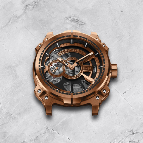 Mauron Musy's first ever skeletonised watch