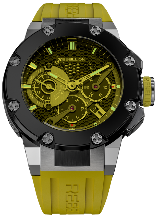 REBELLION PREDATOR - CHRONOGRAPH PUSHER