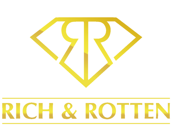 Rich & Rotten clothing urban lifestyle fashion brand golden logo
