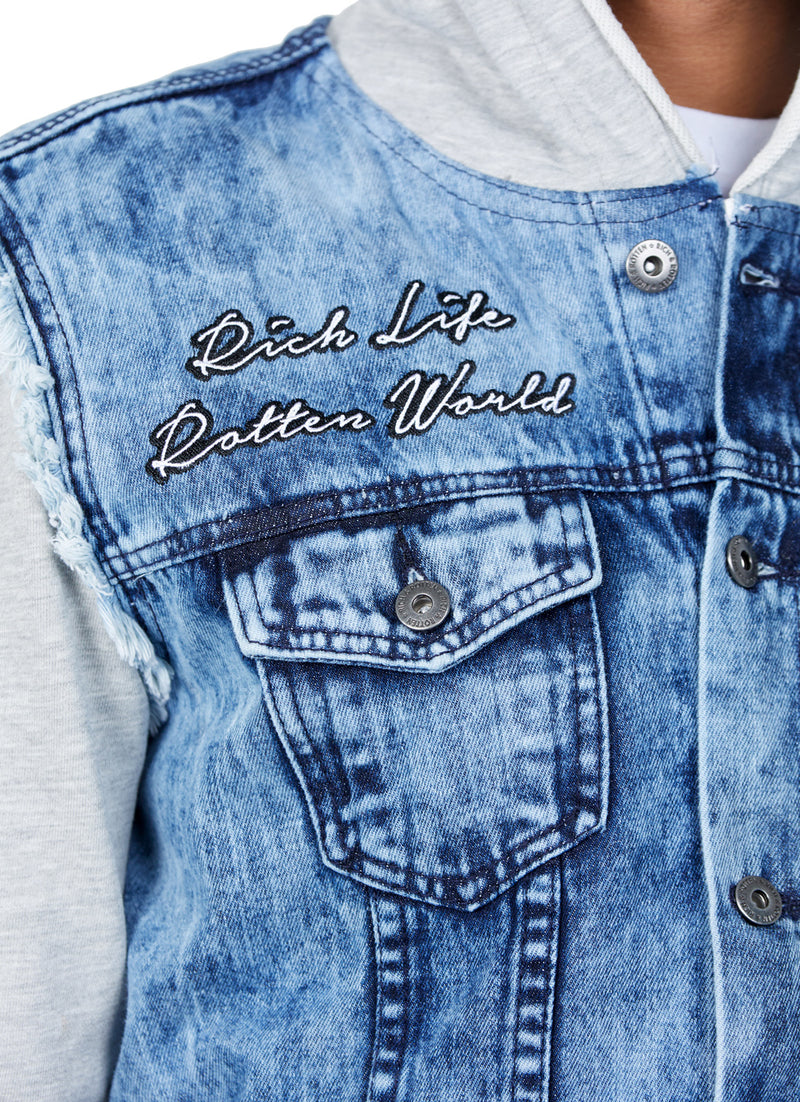RICH LIFE, ROTTEN WORLD DENIM - Rich & Rotten