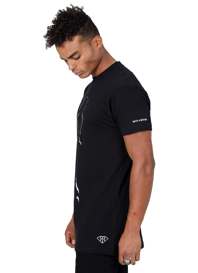 KING PIECE BLACK TEE