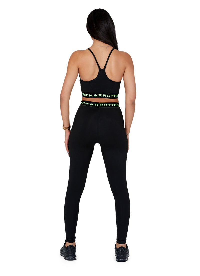 R&R SPORTS BRA or LEGGINGS (green)
