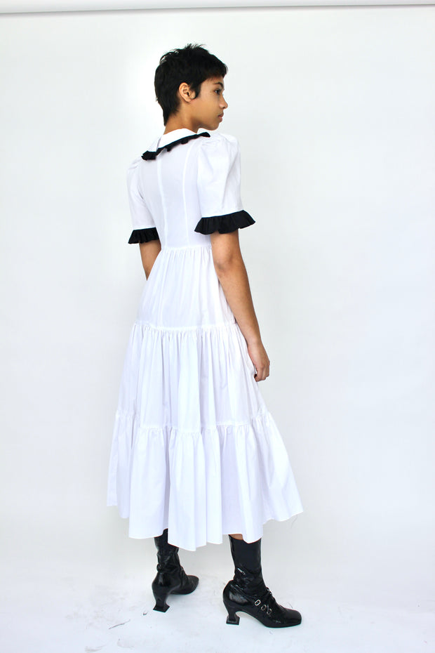 Spring Lucy Dress in Black and White