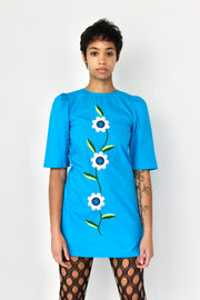 Hudson Dress in Blue