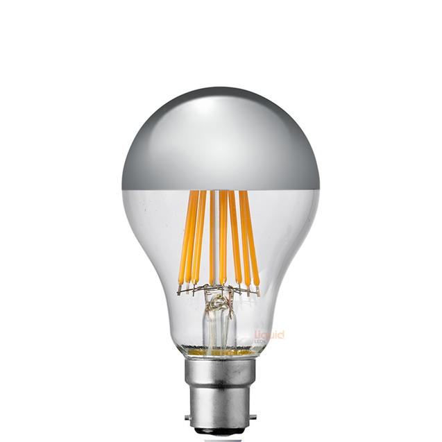 14W GLS Silver Crown LED Dimmable Light Bulb (B22)