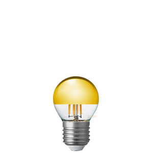 4W Fancy Round Gold Crown Dimmable LED Bulb (E27)