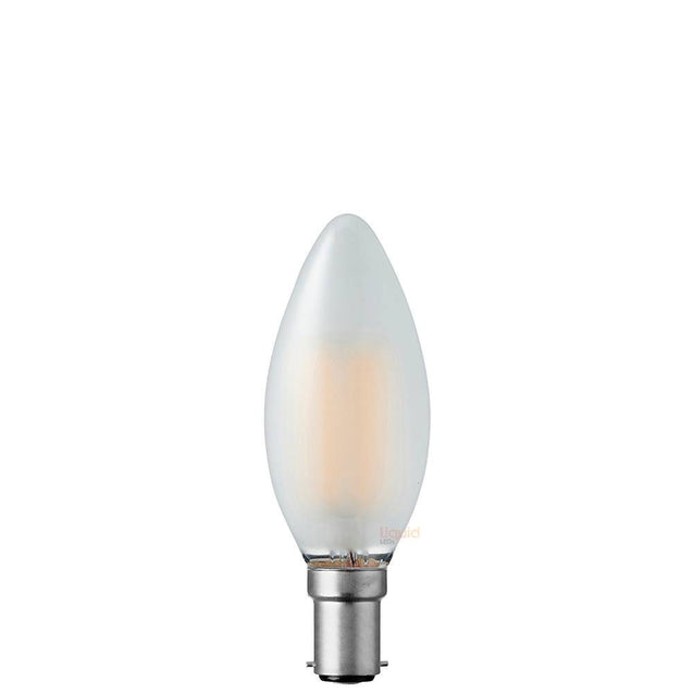 4W Candle Dimmable LED Bulb (B15) Frosted in Natural White