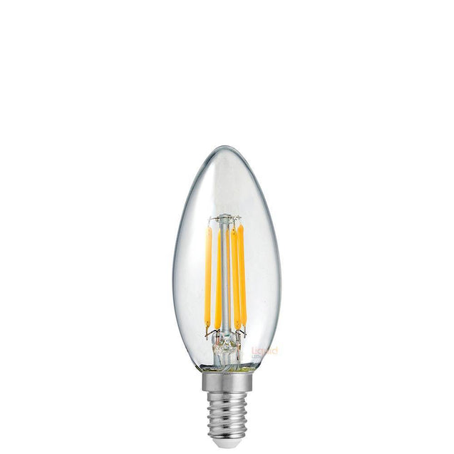 4W Candle Dimmable LED Bulb (E14) Clear in Natural White