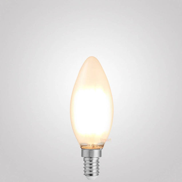 4W 12 Volt Candle Dimmable LED Bulb (E14) Frosted