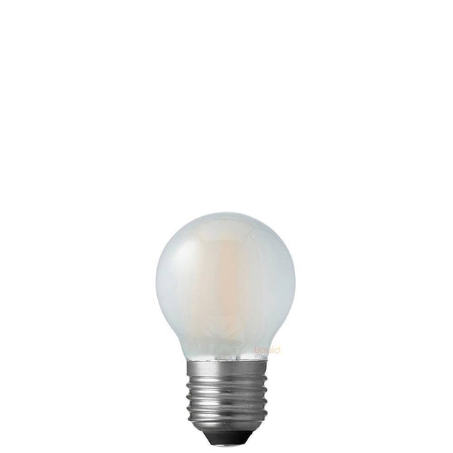 4W Fancy Round Dimmable LED Bulb (E27) Frosted in Warm White
