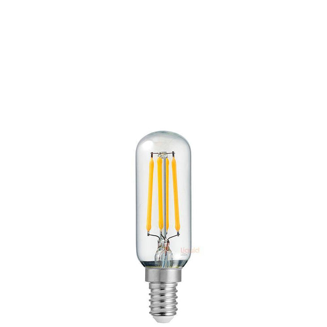 4W Tubular Dimmable LED Light Bulb (E14) Clear