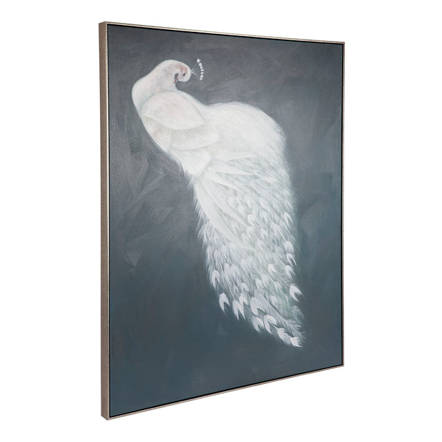 Marvellous Peacock Wall Art - 120 x 150