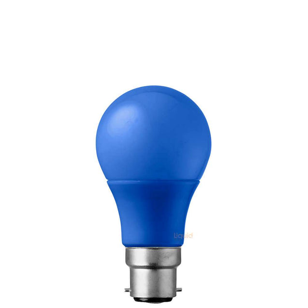 5W Blue GLS LED Light Bulb (B22)