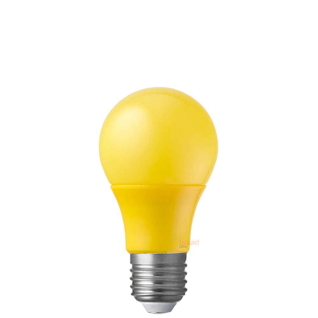 5W Yellow GLS LED Light Bulb (E27)