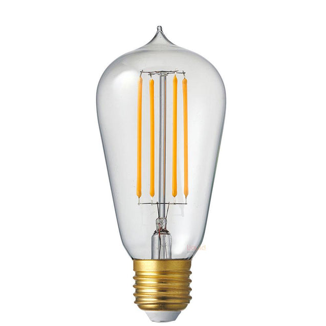 6W Edison Dimmable LED Light Bulb (E27) in Extra Warm White