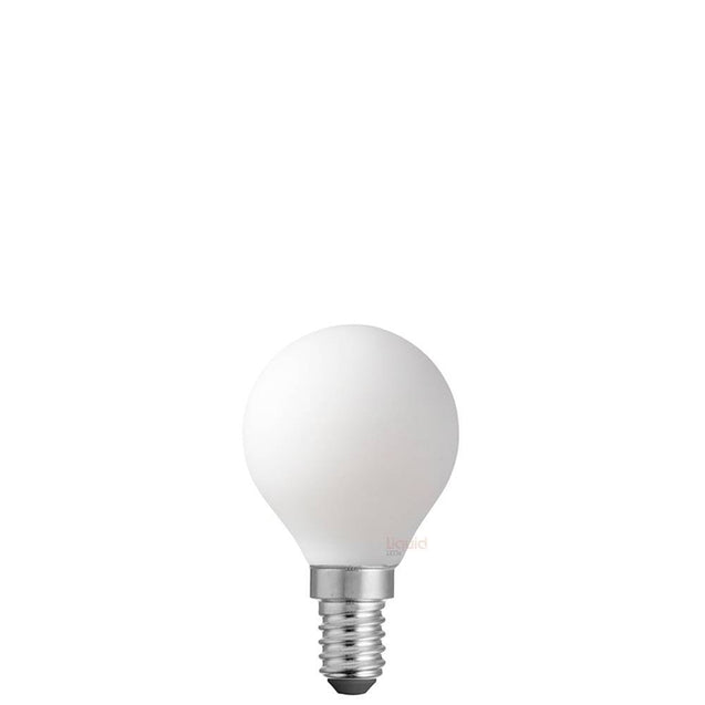 6W 12 Volt Fancy Round Opal Dimmable LED Bulb (E14)