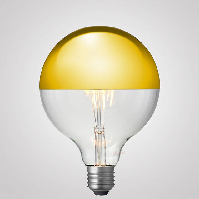 8W G125 Gold Crown Dimmable LED Bulb (E27)