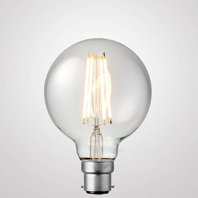 8W G95 Dimmable LED Bulb (B22) in Warm White