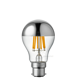 9W GLS Silver Crown LED Dimmable Light Bulb (B22)