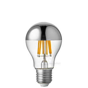 9W GLS Silver Crown LED Dimmable Light Bulb (E27)