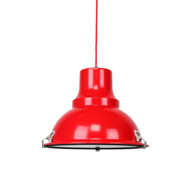 Aeolus Pendant Light - Red - Pendant Light She Lights 5798FR
