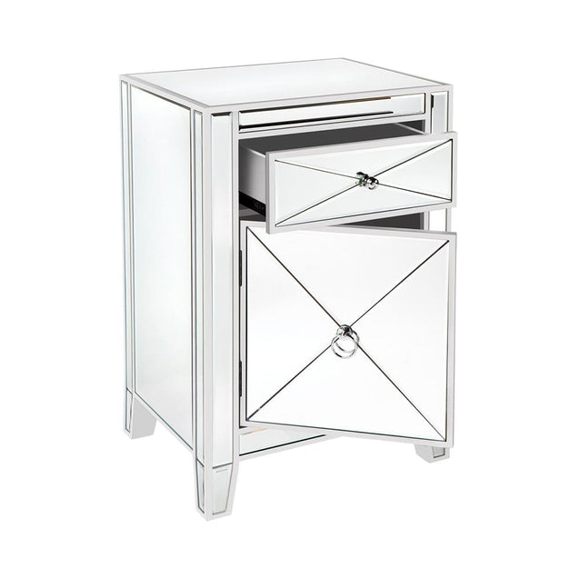 Apolo Bedside Table - White - Bedside Tables Cafe Lighting & Living 31940