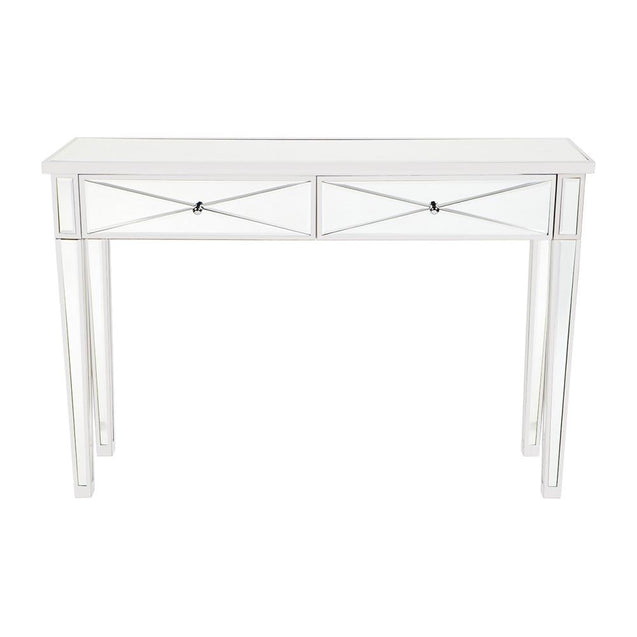 Apolo Console Table - White - Coffee & Side Tables Cafe Lighting & Living 31941