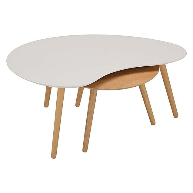 Art Coffee Table White - Coffee Table 6ixty KARTW