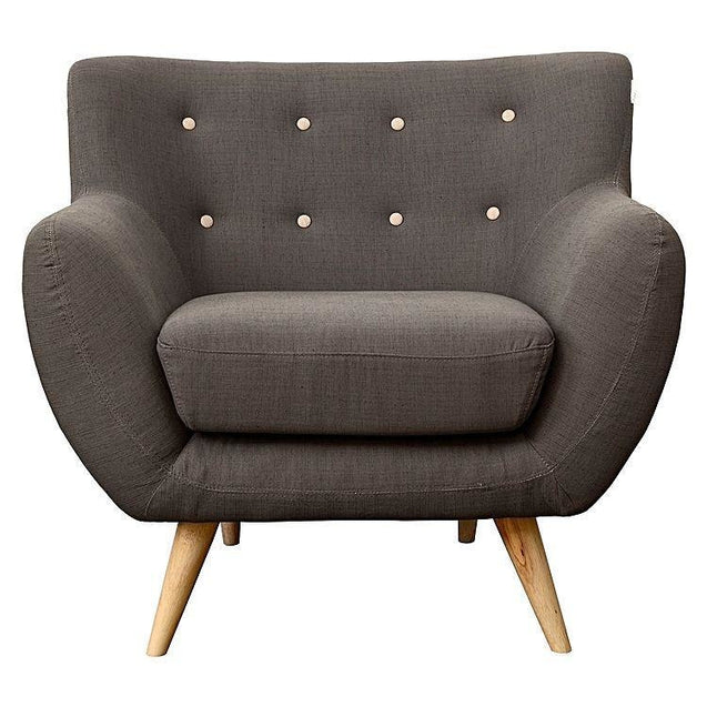 Astrid Armchair Grey - Armchair 6ixty 6AGREY