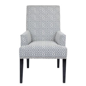 Bentley Armchair Diamond Navy - Dining Chairs Cafe Lighting & Living 31758