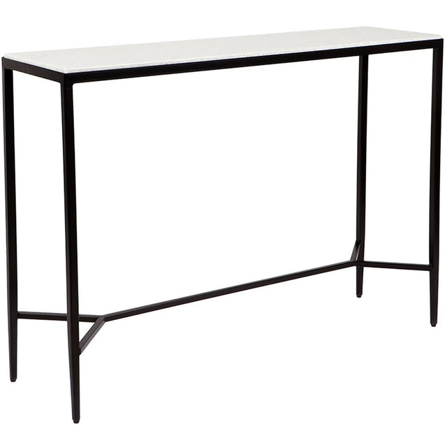 Chloe Console Table - Black - Coffee & Side Tables Cafe Lighting & Living 32125