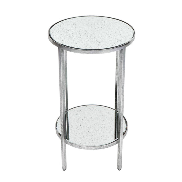 Cocktail Side Table Petite - Silver - Side Table Cafe Lighting & Living 31964