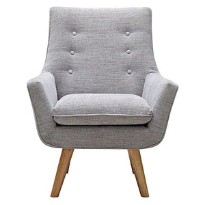 Como Armchair Light Grey - Armchair 6ixty COAGY