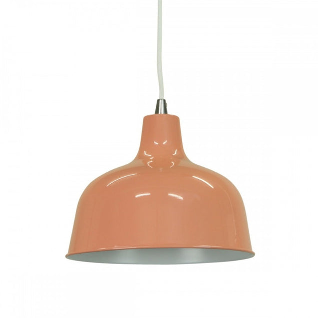 Dania Pendant Light - Beige Red - Pendant Light She Lights 6545BeR