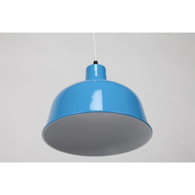 Dania Pendant Light - Light Blue - Pendant Light She Lights 6545LB